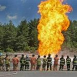 Natural Gas Goes Down in Flames