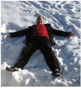 JT snow angel