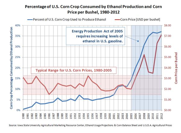 Corn Crop-Ethanol Production