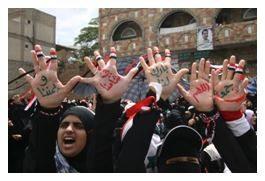 Muslim Protesters Women