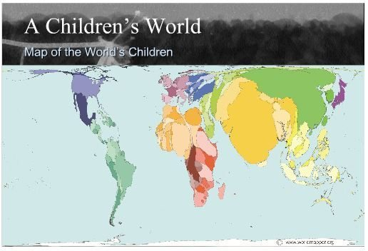 A Children's World Map