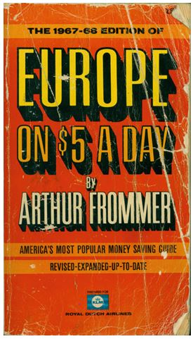 Europe on $5 a Day, cover
