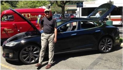 JT with Tesla