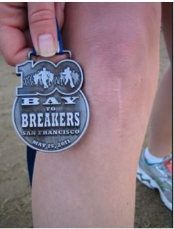 Medal-Bay to Breakers SF