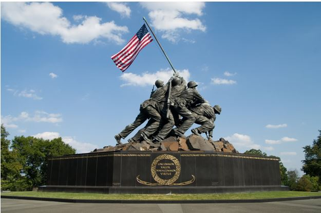 Iwo Jima Memorial Raising of the Flag