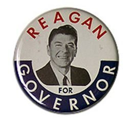 Ronald Reagan button
