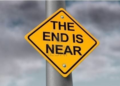 The End is Near-sign