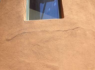 Crack in Stucco