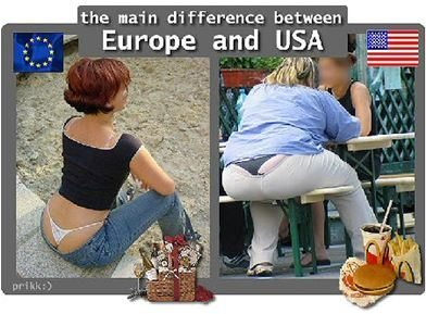 Europe & US - Difference