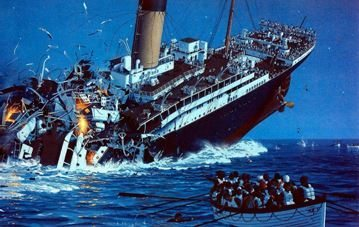 Sinking Ship - Titanic