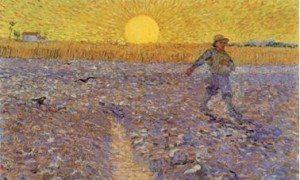 Wheat Fields-Van Gogh