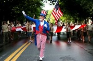 Parade Uncle Sam