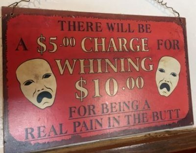 Whining Plaque
