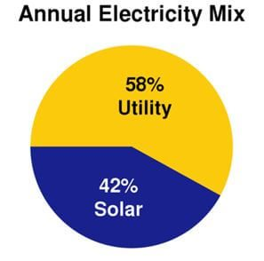 Annual Electricity Mix