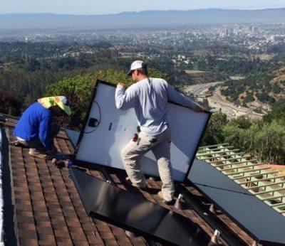 Solar Panel Installation 2