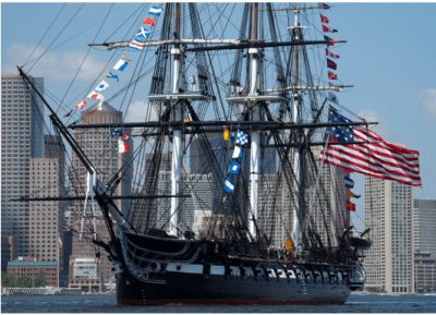Boston Sailing Ship