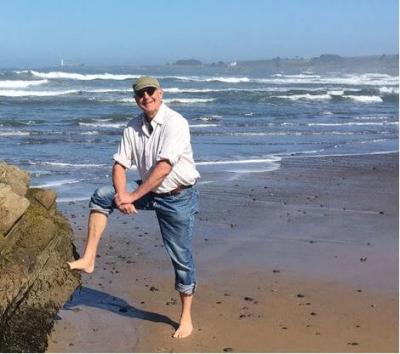 John at the beach