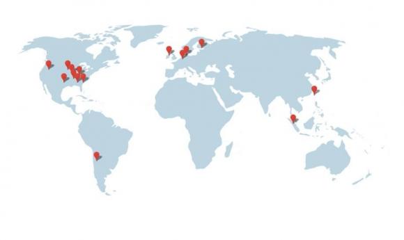 Google Global Server Farms