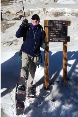 john-cooling-down-in-the-sierra-snow